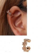 """Auskarai ant ausies """"Gėlių ratelis"""""""