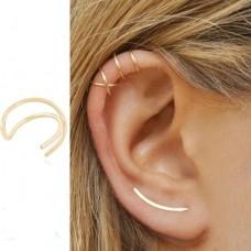 Auskarai ant ausies