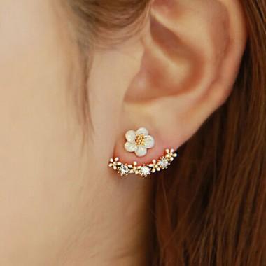 """Auskarai """"Gėlelės prie ausies"""""""