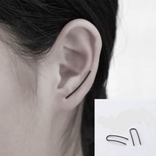 Auskarai per visą ausį