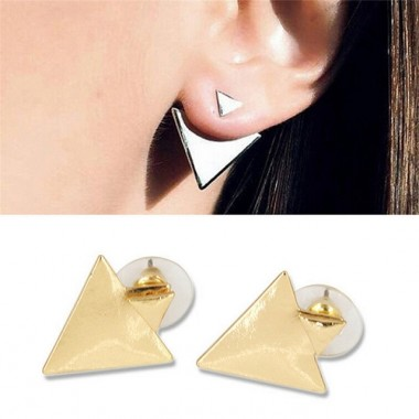 """Auskarai prie ausies """"Žavūs trikampėliai"""""""