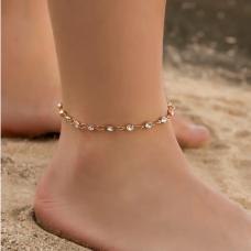 """Grandinėlė ant kojos """"Šviesūs kristaliukai"""""""