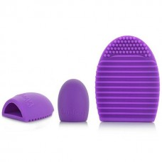 Makiažo šepetėlių silikoninė valymo kempinėlė