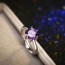"""Žiedas """"Violetinis kristalas"""""""